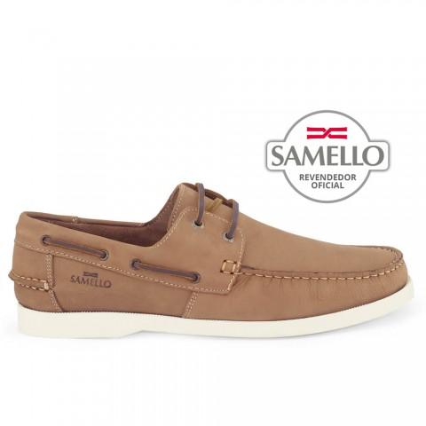 Dockside Samello Amêndoa c/ sola Creme Tamanhos 45 a 50
