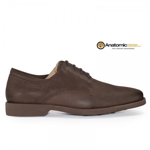 Sapato Anatomic Gel Vintage 5616 Cappuccino