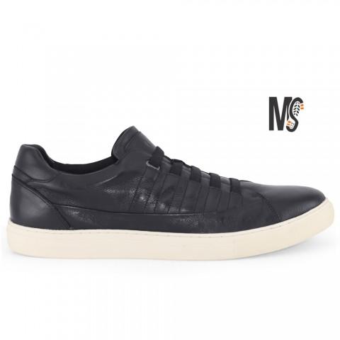 Sapatênis Meu Sapato Way Maker Preto com Elástico Tamanhos 45 a 48